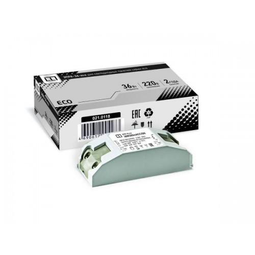 Блок питания ASD ЭПРА-36-ECO для панели светодиодной LP-ECO-ПРИЗМА 36Вт