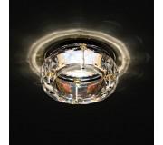Точечный светильник LIGHTSTAR 002122 CRYSTO FACCETO CR, 002122