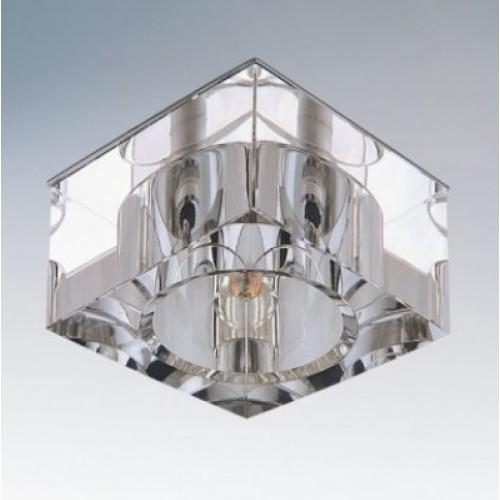 Точечный светильник LIGHTSTAR 004050 QUBE LT CR