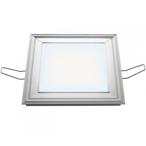 Светильник светодиодный встраиваемый UNIEL ULP-2020-12/NW SILVER