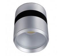 Светильник светодиодный накладной UNIEL ULN-M05C-20W/WW/SM SILVER