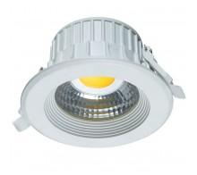 Светильник светодиодный встраиваемый UNIEL ULT-D01B-8W/WW WHITE