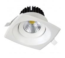 Светильник светодиодный встраиваемый UNIEL ULM-S65A-8W/NW WHITE