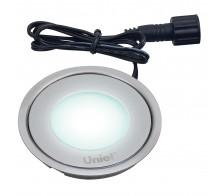 Светильник светодиодный встраиваемый UNIEL ULE-R06-0,5W/NW SILVER