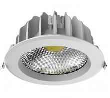 Светильник светодиодный встраиваемый UNIEL ULT-D03E-18W/NW SILVER