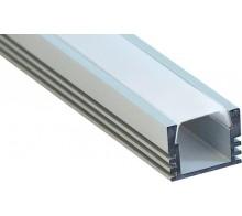 Профиль для светодиодной ленты накладной CAB261