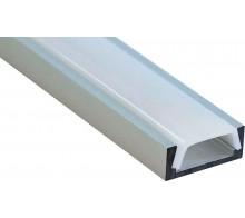 Профиль для светодиодной ленты накладной CAB262