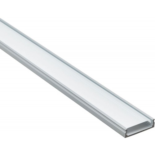 Профиль для светодиодной ленты накладной CAB263