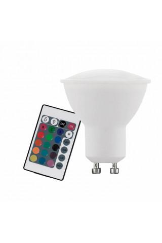 Лампа диммируемая светодиодная Eglo 10686 GU10 4W 3000K