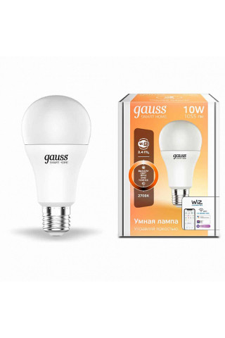 Лампа диммируемая светодиодная Gauss 1070112 Е27 10W 2700K