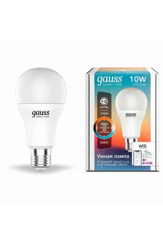 Лампа диммируемая светодиодная Gauss 1080112 Е27 10W 2700-6500K