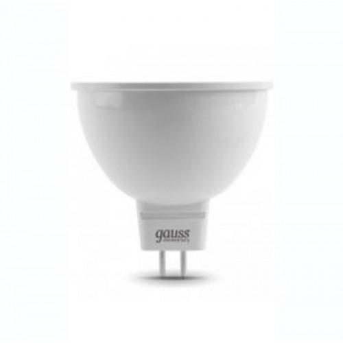 Лампа LED GAUSS 13537 MR16 GU5,3 7W 6500K, 13537