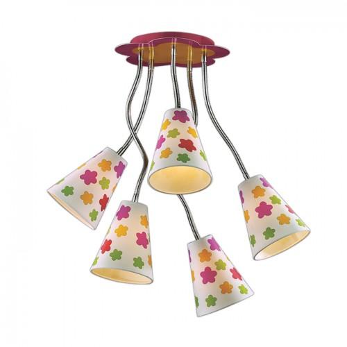Светильник для детской комнаты ODEON 2280/5 FLAU, 2280-5