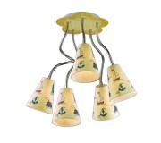 Потолочный светильник для детской ODEON 2281/5 Dream, 2281/5