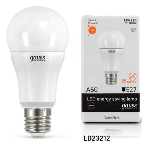 Лампа светодиодная GAUSS 23212