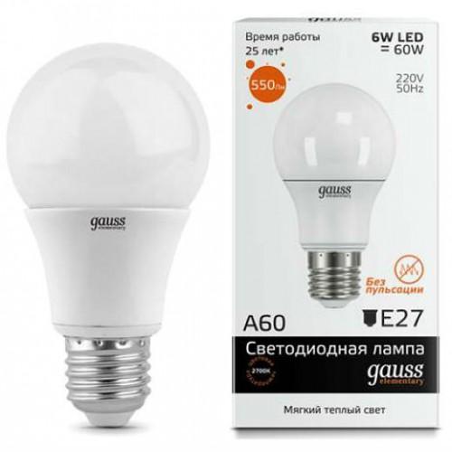 Лампа светодиодная GAUSS 23216