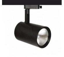 Светильник трековый светодиодный 30Вт черный 3000К/4000К 3055LSB30