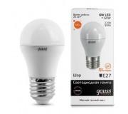Лампа светодиодная GAUSS 53216, 53216