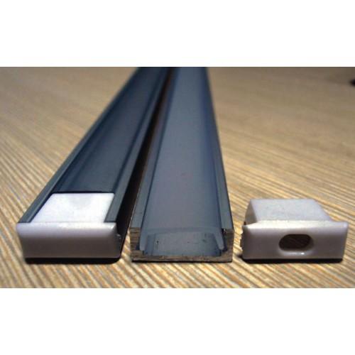 Профиль для светодиодной ленты накладной 590.71