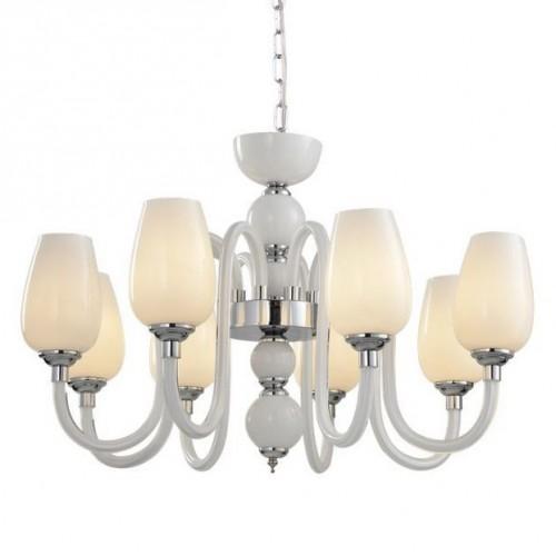 Люстра подвесная ARTE LAMP A1404LM-8WH LAVINIA, A1404LM-8WH