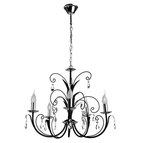 Люстра подвесная ARTE LAMP A1742LM-5BK ROMANA, A1742LM-5BK