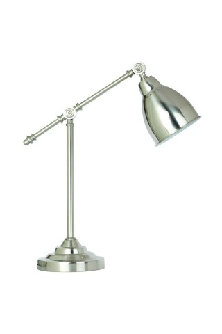 Лампа настольная ARTE LAMP A2054LT-1SS BRACCIO