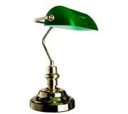 Лампа настольная ARTE LAMP A2491LT-1GO BANKER, A2491LT-1GO