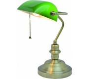 Лампа настольная ARTE LAMP A2492LT-1AB BANKER, A2492LT-1AB