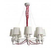 Люстра подвесная ARTE LAMP A3325LM-8WH SERGIO