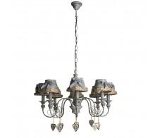 Люстра подвесная ARTE LAMP A5290LM-8RI FATTORIA