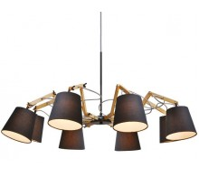 Люстра подвесная ARTE LAMP A5700LM-8BK PINOCCIO