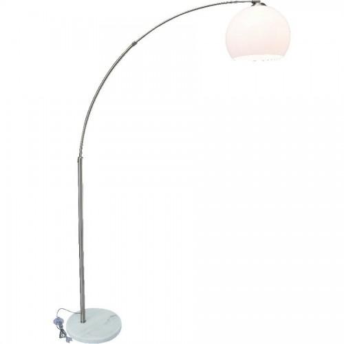 Торшер ARTE LAMP A5822PN-1SS GOLIATH