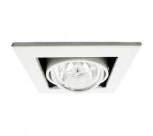 Встраиваемый светильник ARTE LAMP A5930PL-1WH Cardani