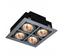 Встраиваемый светильник ARTE LAMP A5930PL-4SI Cardani