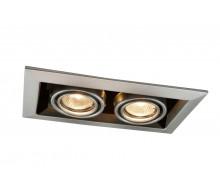 Светильник потолочный встраиваемый ARTE LAMP A5941PL-2SI Cardani