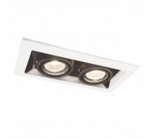 Светильник потолочный встраиваемый ARTE LAMP A5941PL-2WH Cardani