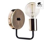 Бра ARTE LAMP A6001AP-1BK GELO, A6001AP-1BK