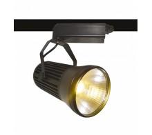 Трековый светодиодный светильник 30W 4000K A6330PL-1BK однофазный