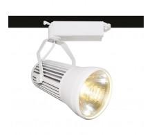 Трековый светодиодный светильник 30W 4000K A6330PL-1WH однофазный