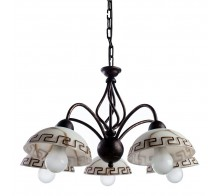 Люстра подвесная ARTE LAMP A6884LM-5BR RUSTICA