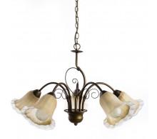 Люстра подвесная ARTE LAMP A9361LM-5BR MORMORIO