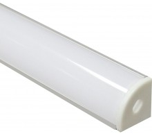 Профиль для светодиодной ленты накладной CAB280