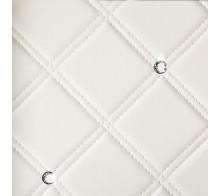 Декоративная панель SIBU Cristal Rombo 85 Bianco/Silver