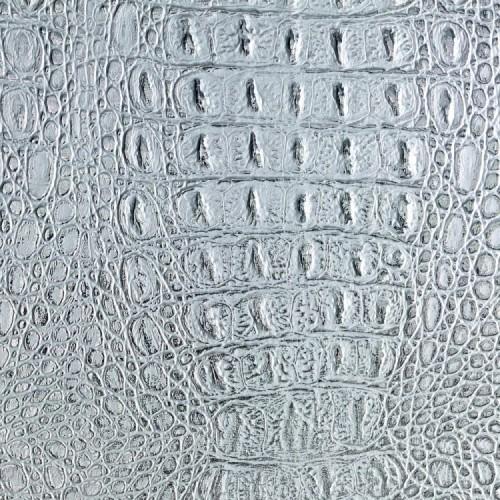 Декоративная панель SIBU CROCO Silver PF met/Silver (без клеевой основы)