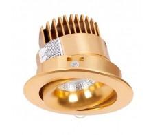 Светильник встраиваемый Donolux DL18465/01WW-Gold R
