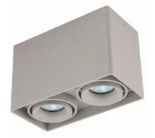Светильник накладной Donolux DL18610/02WW-SQ Silver Grey