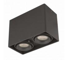 Светильник накладной светодиодный DONOLUX DL18611/02WW-SQ Shiny black