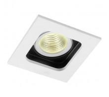Светильник встраиваемый Donolux DL18614/01WW-SQ White/Black