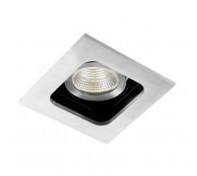 Светильник встраиваемый Donolux DL18614/01WW-SQ Alu/Black