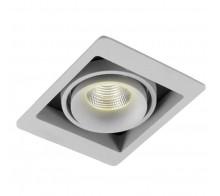 Светильник встраиваемый Donolux DL18615/01WW-SQ Silver Grey/Black